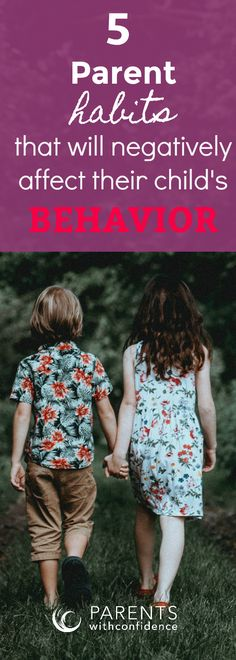 Find out what the most commonly overlooked KEY to inspiring positive behaviors is for a child, and what 5 common habits threaten to negatively affect a child's behavior. Watching out for these habits will help improve positive parenting skills and your parent-child connection. #parenting #positiveparenting #kids