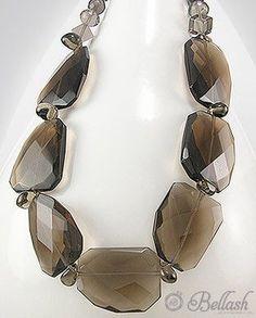51756213 Collar de Vidrio c/Plata 925, (En oferta)
