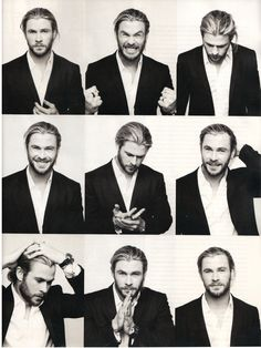 Chris Hemsworth- i dunno if theres a man im more in love with than him @Melissa Roth