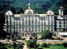 Grand Hotel Des Iles Borromées  , Stresa , Lago Maggiore , Italy   - Explore the World with Travel Nerd Nici, one Country at a Time. http://TravelNerdNici.com