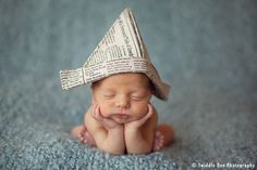 Love the hat.... & the cute baby. :0)