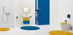 Cómo decorar un baño infantil para los peques de la casa - http://www.decoora.com/decorar-bano-infantil-los-peques-la-casa/