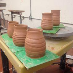 Leatherhard, fresh throw #handmade_Ceramics, #Coffee_Mugs, #yunomi, Japanese_Cups, #pottery, #stoneware, #james_jalali,  #japanese_cups, #turquoise, #lifeandclay, #wheel_thrown, #sake, #Gift, #handmade, #lifeandclay, #bisque_fire, #pottery_glaze, #handmade_gift, #lasting_gifts