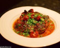 Ossobuco - Italiensk magi | Gladkokken Vinaigrette, Calzone, Ratatouille, Chana Masala, Risotto, Spaghetti, Beef, Ethnic Recipes, Food