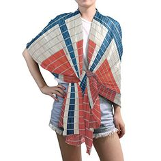 Shawl Wrap Sheer Scarves,Mosaic World Flag Norwegian,Oblong Chiffon Scarf ** Read review @