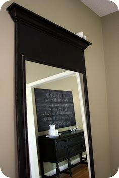 Crazy Wonderful: mirror, mirror, leaning on the wall - tutorial