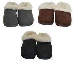 Dearfoams Womens Slippers Plush Memory Indoor Outdoor Sole Sherpa Lining NWOB #Dearfoams #SlipperShoes