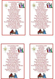 Candy Christmas Poem | CraftSayings.com • View topic - LINK:M ...
