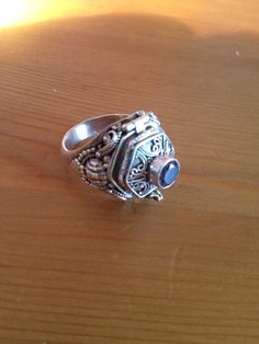Vintage Sterling Silver Poison 420 Festival by TempleAdornment, $110.00