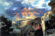 Thomas Moran, A Miracle of Nature, 1913