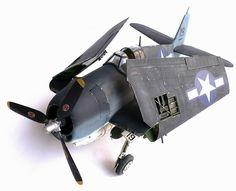 Trumpeter's 1/32 scale Grumman F6F-3 Hellcat.