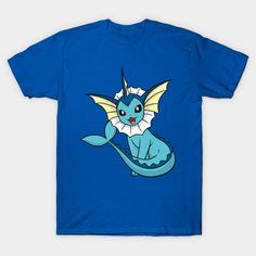 23389f6da Shop Dream Vaporeon pokemon t-shirts designed by rotom as well as other  pokemon merchandise at TeePublic.