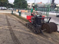Novo campo de treino recebe grama e deve ser liberado no início de agosto #globoesporte