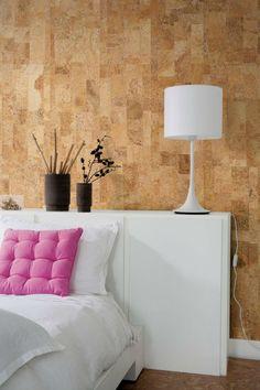 Пробковые панели для стен. 50 фото интерьеров