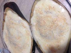 Berenjenas rellenas de carne y champiñones sin gluten y sin lactosa paso...