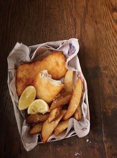 Fish and chips traditionnel
