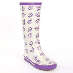 TCU for @Sally Davis - Perfect for a rainy game day!
