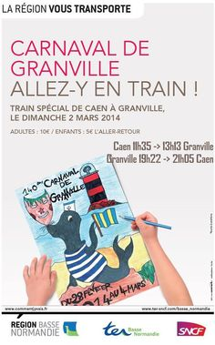 Carnaval de Granville. Le dimanche 2 mars 2014 à granville.