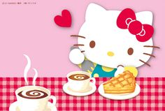 Hello Kitty Art, Hello Kitty My Melody, Hello Kitty Pictures, Friends Wallpaper, Little Twin Stars, Girls Show, Magical Girl, Sanrio, Favorite Color