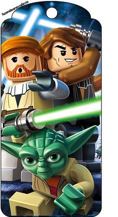 Tag Agradecimento Lego Star Wars: