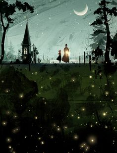 The Art Of Animation, Kim Ji-Hyuck (Hanuol) reminds me of the nights when i was a lil girl and would catch fireflies in my grandparents back yard with grandma :) Can;t wait to share that with Mia :)
