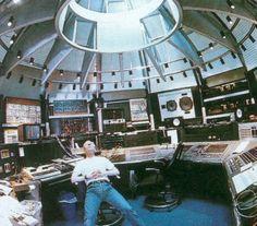 Vince Clarke's former UK home studio.