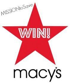 100 winners will WIN a $50 Macy's gift card!  ends 8/21! #giveaway #Macys