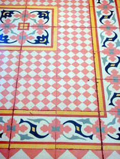 handmade tiles floor