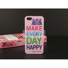 Juicy Couture iPhone 5 case - Make everyday happy