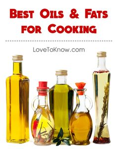 With so many oils and fats available for cooking, it may be difficult to know which ones are the best for each application. We've broken it down for you, so you won't be stuck guessing.