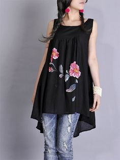 http://www.etsy.com/listing/78723416/long-tunic-dress-with-hand-printed