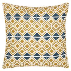 Glasswork Cushion - Gold from etoile-home.com