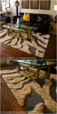 30 Magnificent DIY Rugs to Brighten up Your Home - Rug making Diy Home Decor Bedroom For Teens, Diy Home Decor Rustic, Diy Home Decor On A Budget, Silver Grey Carpet, Shabby, Diy Carpet, Carpet Ideas, Hallway Decorating, Decorating Ideas
