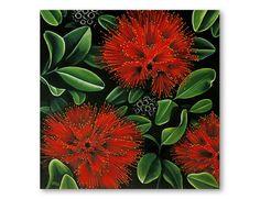 Pohutukawa. Diana Adams, NZ Artist.