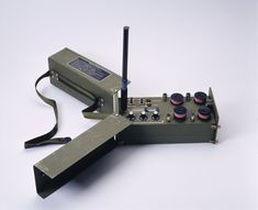 Communications Eliminator Issued by U. Military Intelligence, When activated, this device would jam all radio communications around it then self detonate after its cycle was completed. Spy Gadgets, Intelligent Design, Ham Radio, Boat Anchors, 1970s, Military, Radios, Communication, Industrial