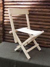 Civil War Folding Camp Chair Reproduction