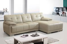 Small Scale Leather Couches