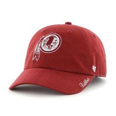 cd26e0fc37b Women s  47 Brand Washington Redskins Sparkle Adjustable Cap