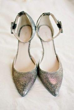 Increíbles zapatos de novia | Zapatos Brillantes - Somos Novias