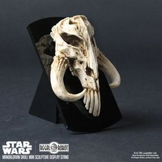 Mandalorian Skull Mini Sculpture Star Wars inspired decor by Regal Robot.  gabrielle m 2c8abadc13f