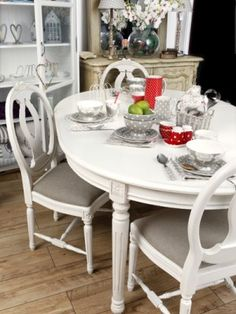 Love this dining set and the look of the entire room.  By the way, this website sells the cutest things.