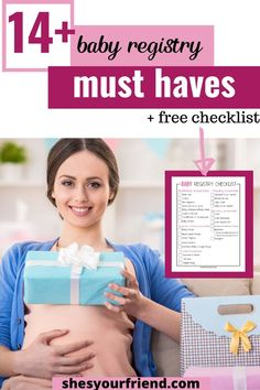Creating a baby registry has never been easier with this checklist of what to register for and where! | baby registry checklist | where to register for baby registry | baby registry essentials | baby registry items | baby registry checklist new moms