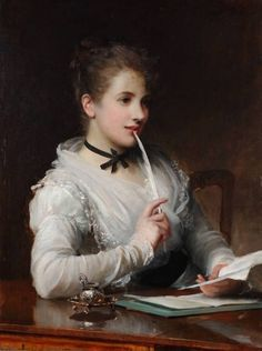 The Love Letter, Samuel Luke Fildes