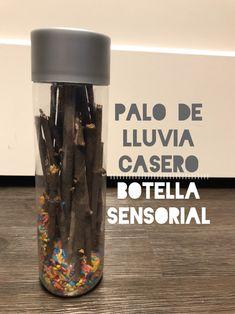 Palo de Lluvia Casero: Botella Sensorial para el Alma Baby Sensory Play, Sensory Toys, Sensory Bottles, Ideas Para Fiestas, Reggio Emilia, Baby Time, Work Inspiration, Science For Kids, Kids Education