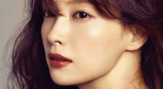 Great brick red lipstick shade for fall // Lee Na Young