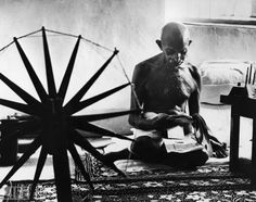 Mahatma Gandhi | photo by Margaret Bourke White  #MicraAttitude; #Magyarország