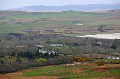 Eallabus, Islay House Square and Islay House from Knockdon