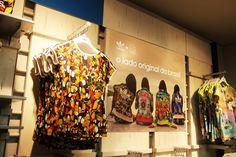 Adidas Original's & The Farm Company Collection visual merchandising by AGE Isobar, Brazil - #visualmerchandising #vm #farm #adidas #varejo #retail #store #loja #brasil #brazil #retaildesign #shopwindow #vitrine #windowsdisplay