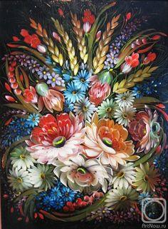 Балакина Ольга. Полевые цветы