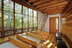 Quiet Spaces Connect Nature and Design - Custom Homes, Design, Detail - Custom Home Magazine